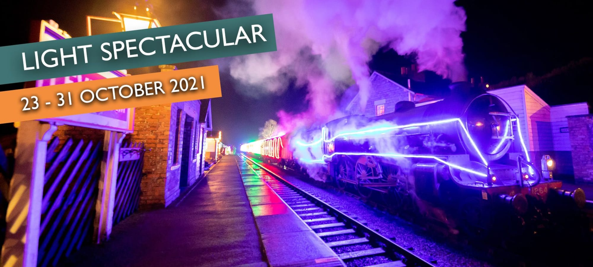 Light Spectacular with North Yorkshire Moors Railway