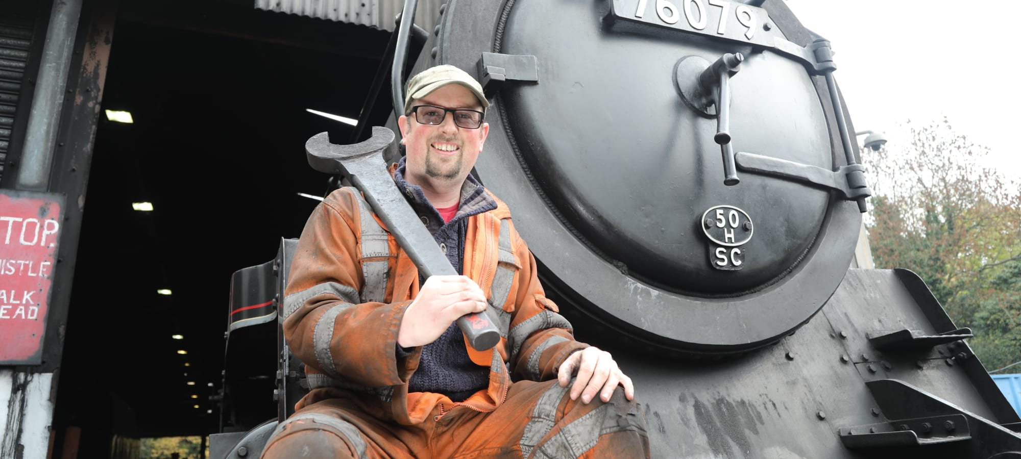 Learn about the inner workings of a heritage railway!