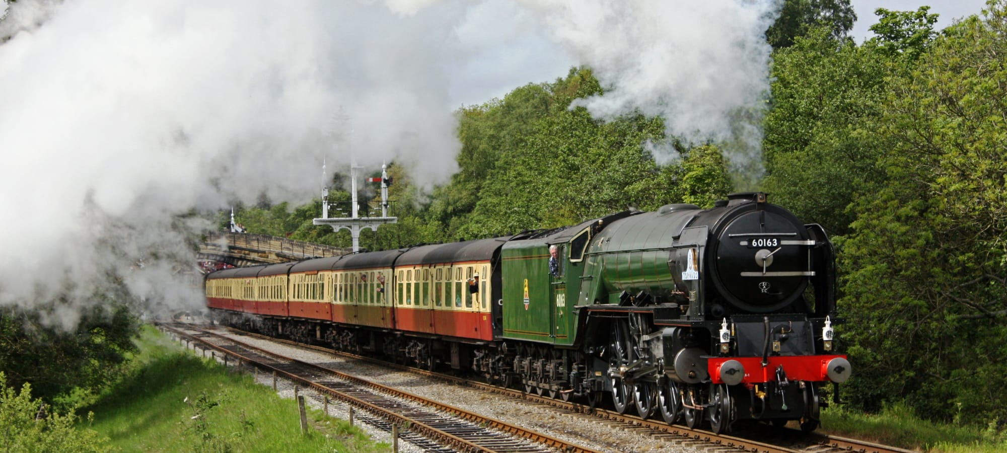The terrific Tornado set to steam in to the North Yorkshire Moors Railway