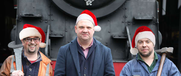 Christmas on the Yorkshire Steam Railway: All Aboard